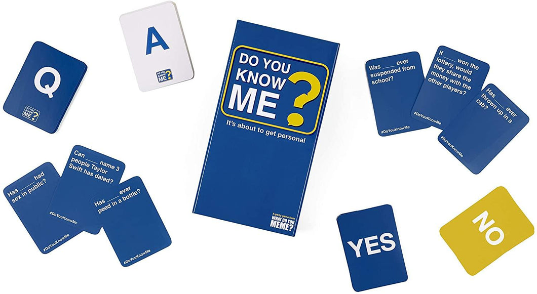 Do You Know Me Adult Party Game