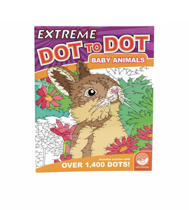Dot to Dot Extreme Baby Animals