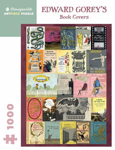 Edward Gorey: Book Covers - 1000 piece