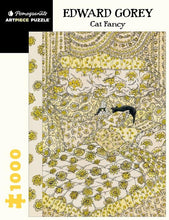 Load image into Gallery viewer, Edward Gorey: Cat Fancy - 1000 piece