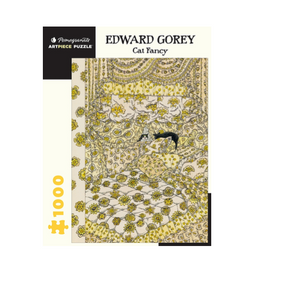 Edward Gorey: Cat Fancy - 1000 piece
