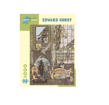 Load image into Gallery viewer, Edward Gorey: Frawgge Mfg Co. - 1000 piece