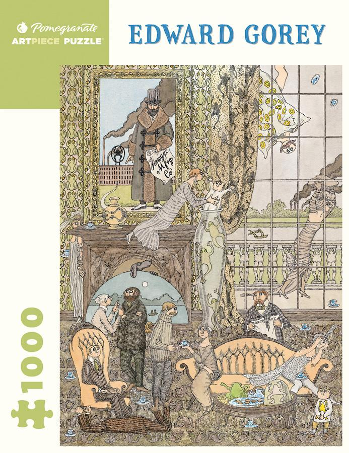 Edward Gorey: Frawgge Mfg Co. - 1000 piece