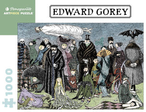 Edward Gorey: Untitled - 1000 piece