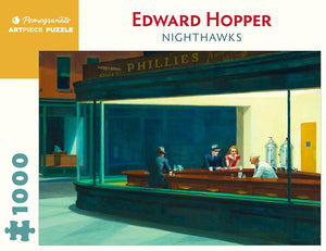 Edward Hopper: Nighthawks - 1000 piece