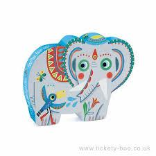 Asian Elephant - 24 piece