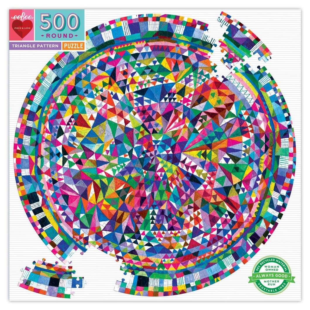 Triangle Pattern - 500 piece
