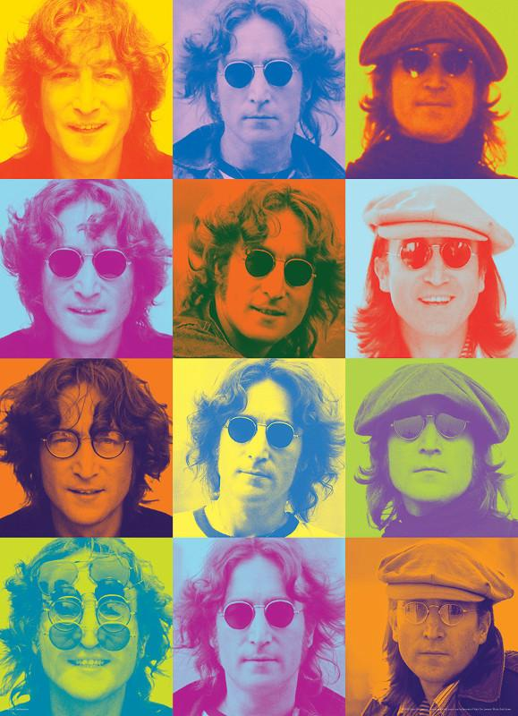 John Lennon Color Portraits