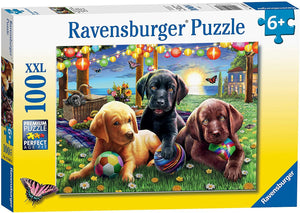 Puppy Picnic 100pc js