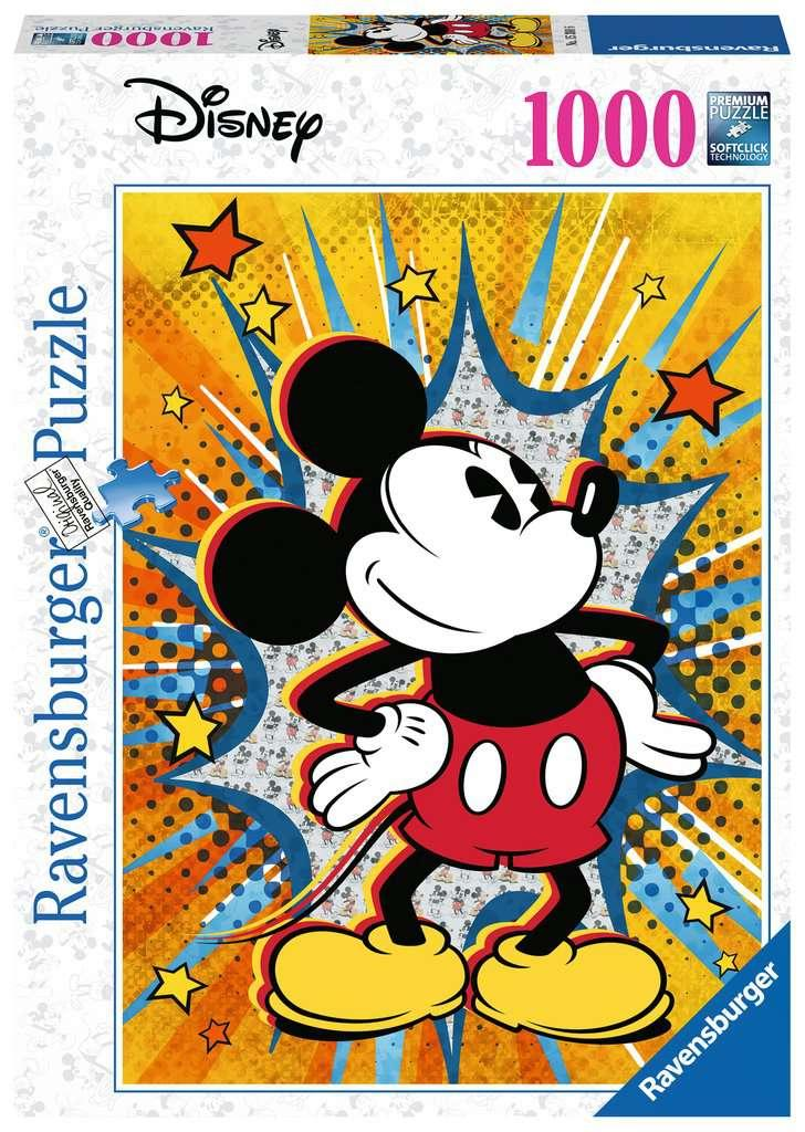 Retro Mickey - 1000 piece