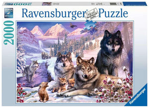 Winter Wolves - 2000 piece