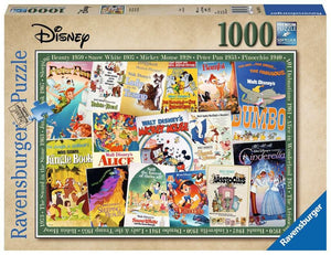 Disney Vintage Movie Posters - 1000 piece