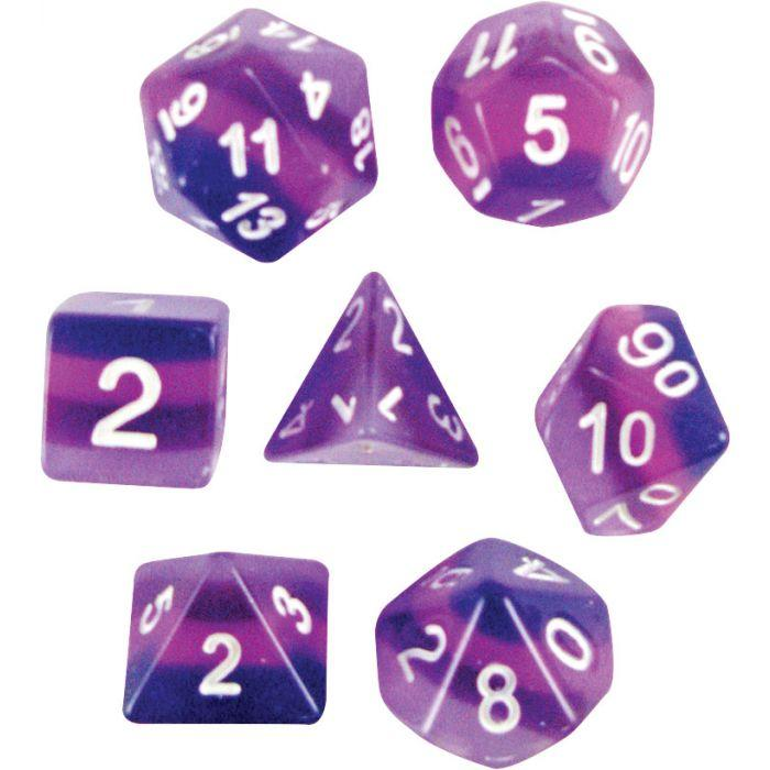 Purple Haze Dice Set Box