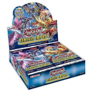 Yu-Gi-Oh Genisis Impact Booster Pack