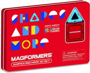 Magformers Shapes & More 20pc