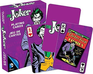 JOKER Retro DC Playing