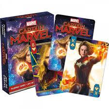 Captain Marvel Playing Cards