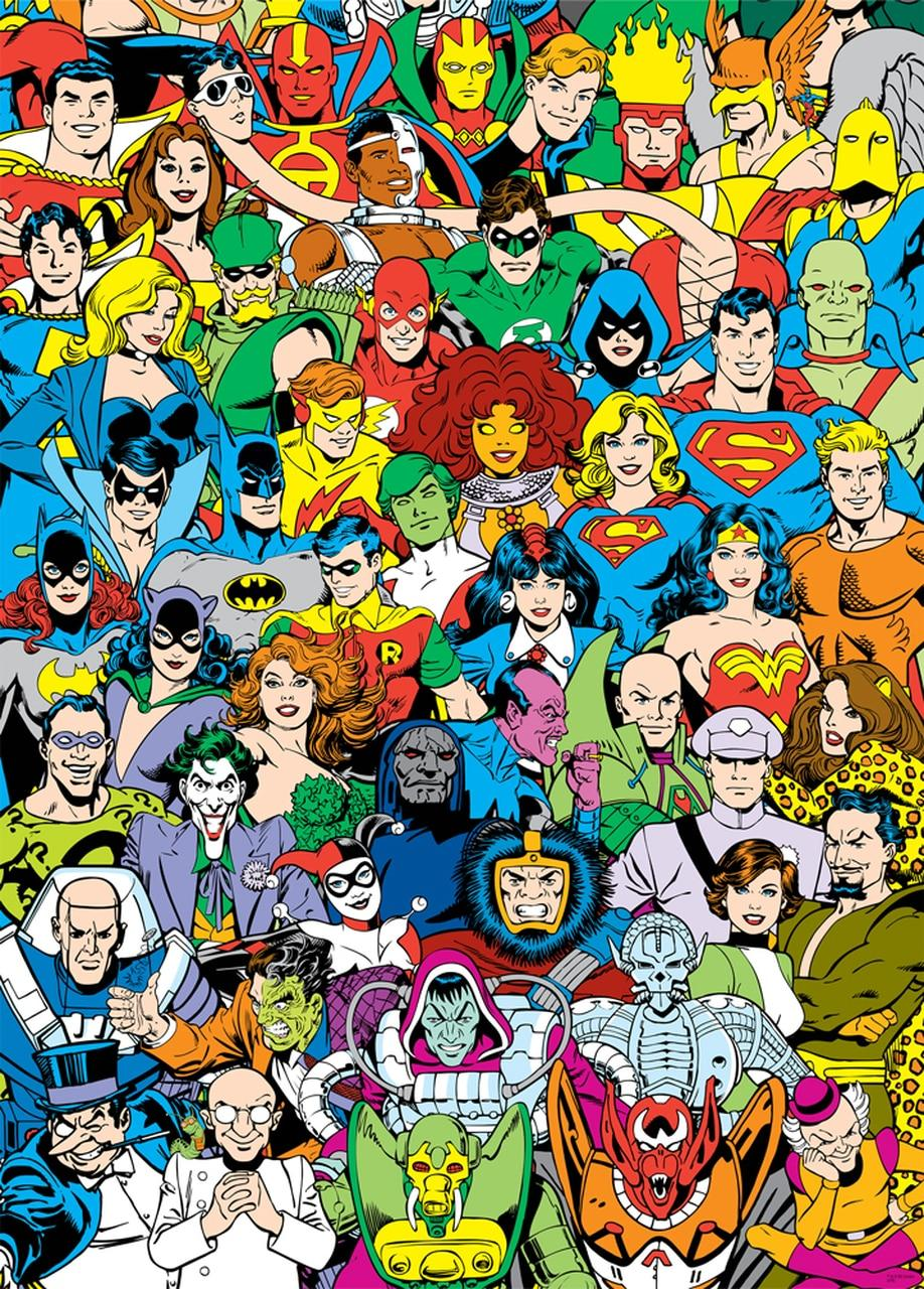 DC Comics Retro Lineup - 3000 piece