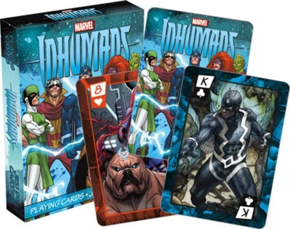 Marvel Inhumans Playing Cards