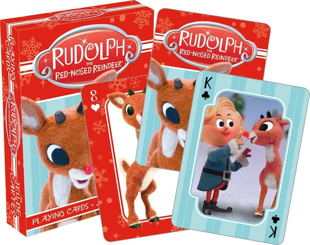 Rudolph Photo Playing Cards
