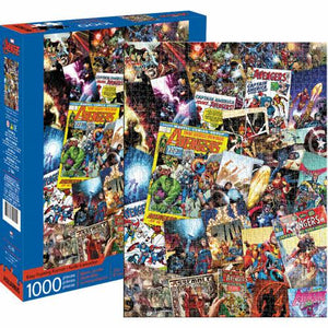 Avengers Collage 1000pc js