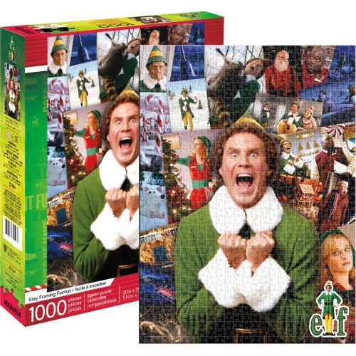 Elf Collage - 1000 piece