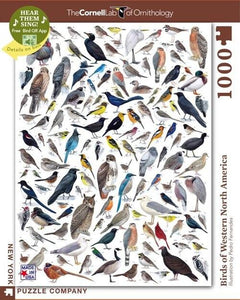 Birds of Western North America - 1000 piece