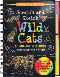 Wild Cats Scratch and Sketch