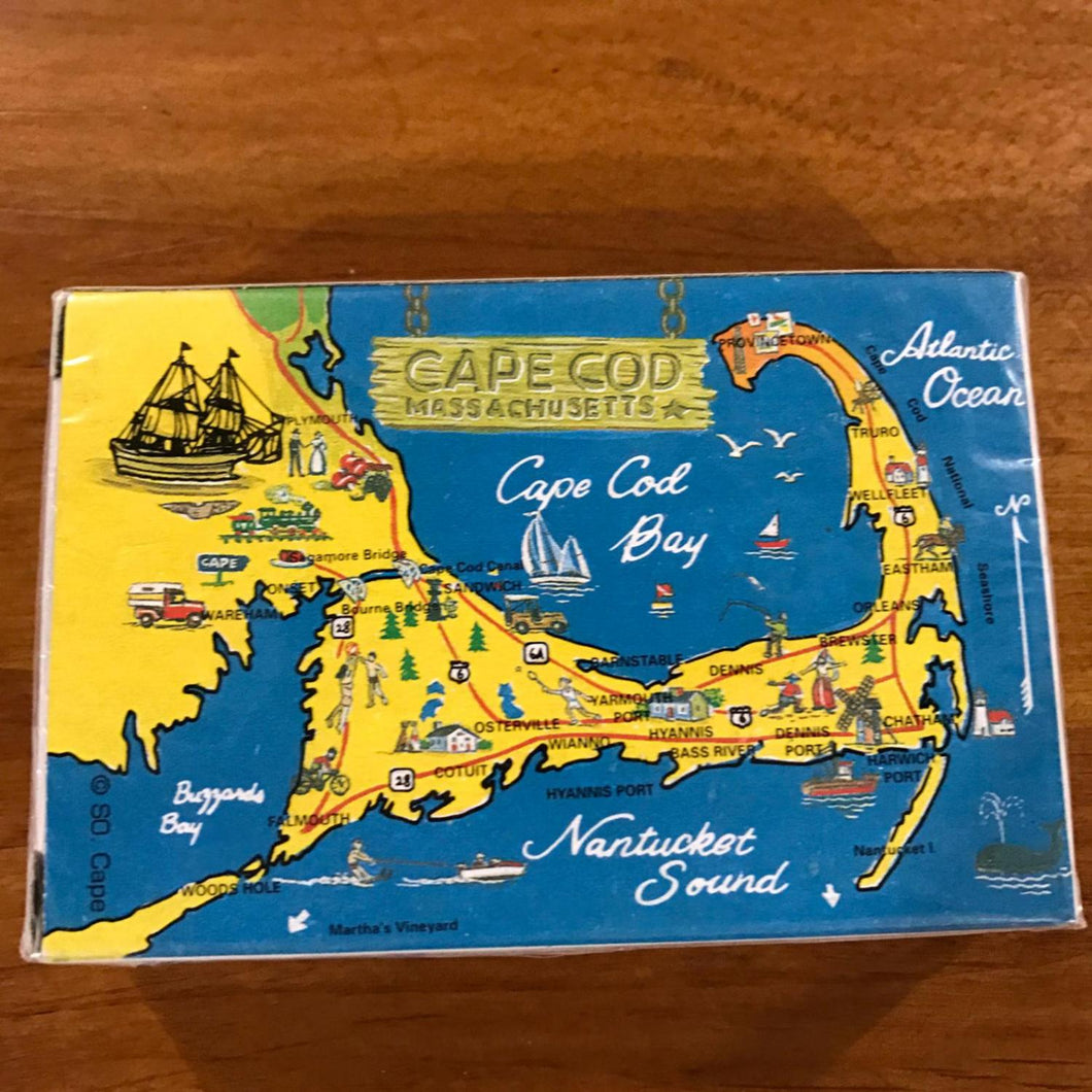 Cape Cod Map Playing Cards