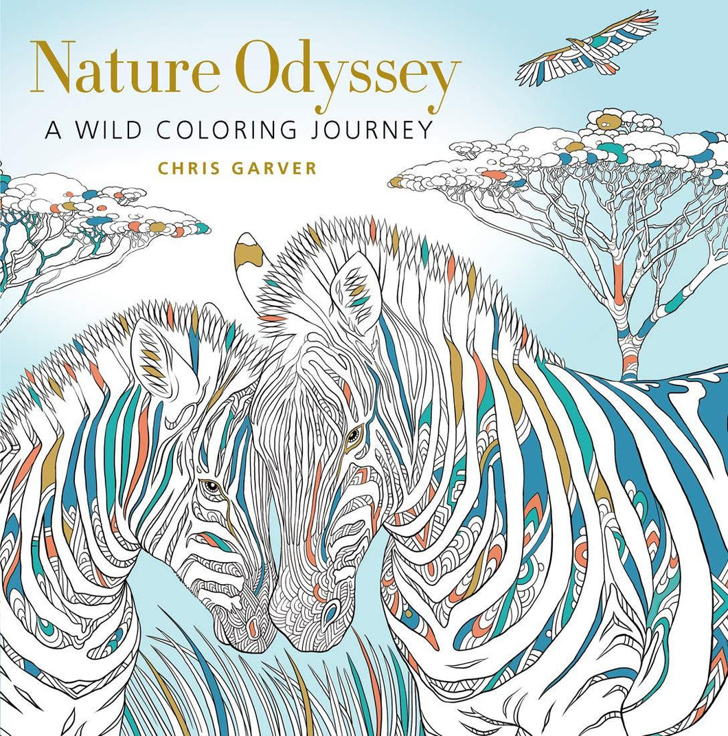 Nature Odyssey Coloring Book