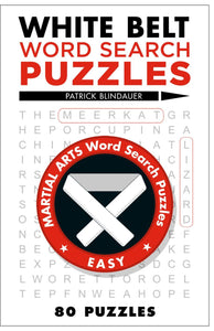 Word Search Puzzles White Belt