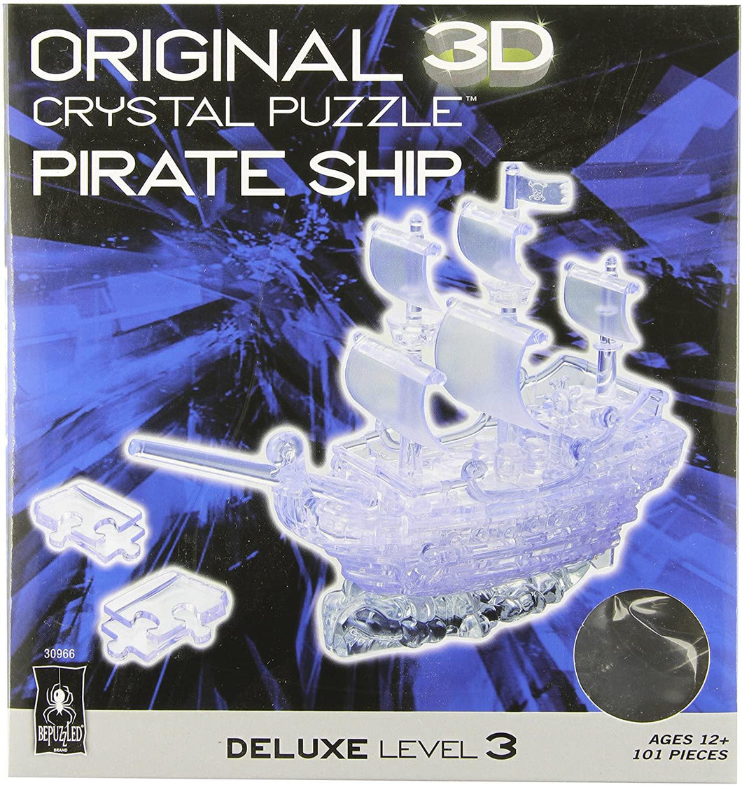 Pirate Ship 3D Crystal Puzzle