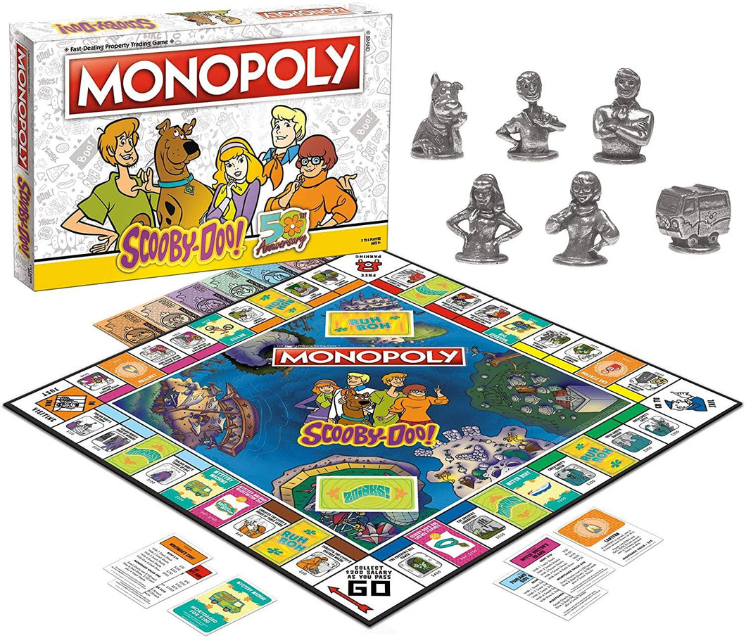 Monopoly Scooby-Do 50th Annive