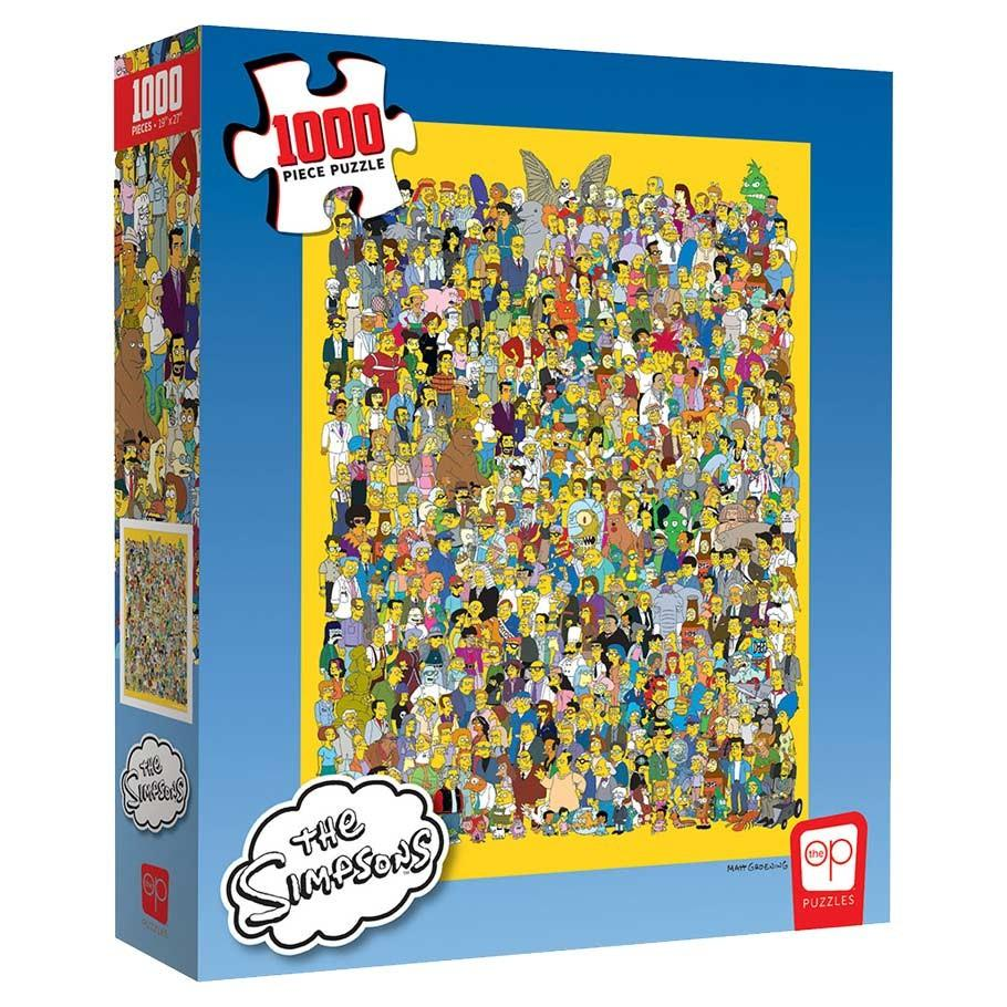 Simpsons: Cast of Thousands - 1000 piece