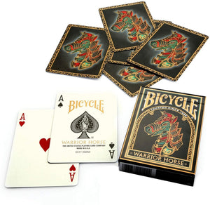 Warrior Horse Bicycle Cards