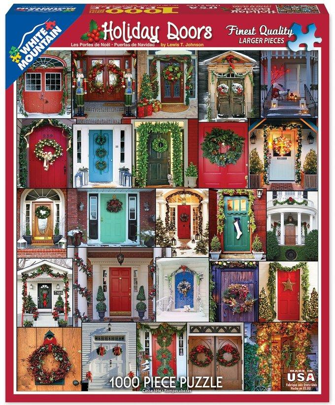 Holiday Doors - 1000 piece