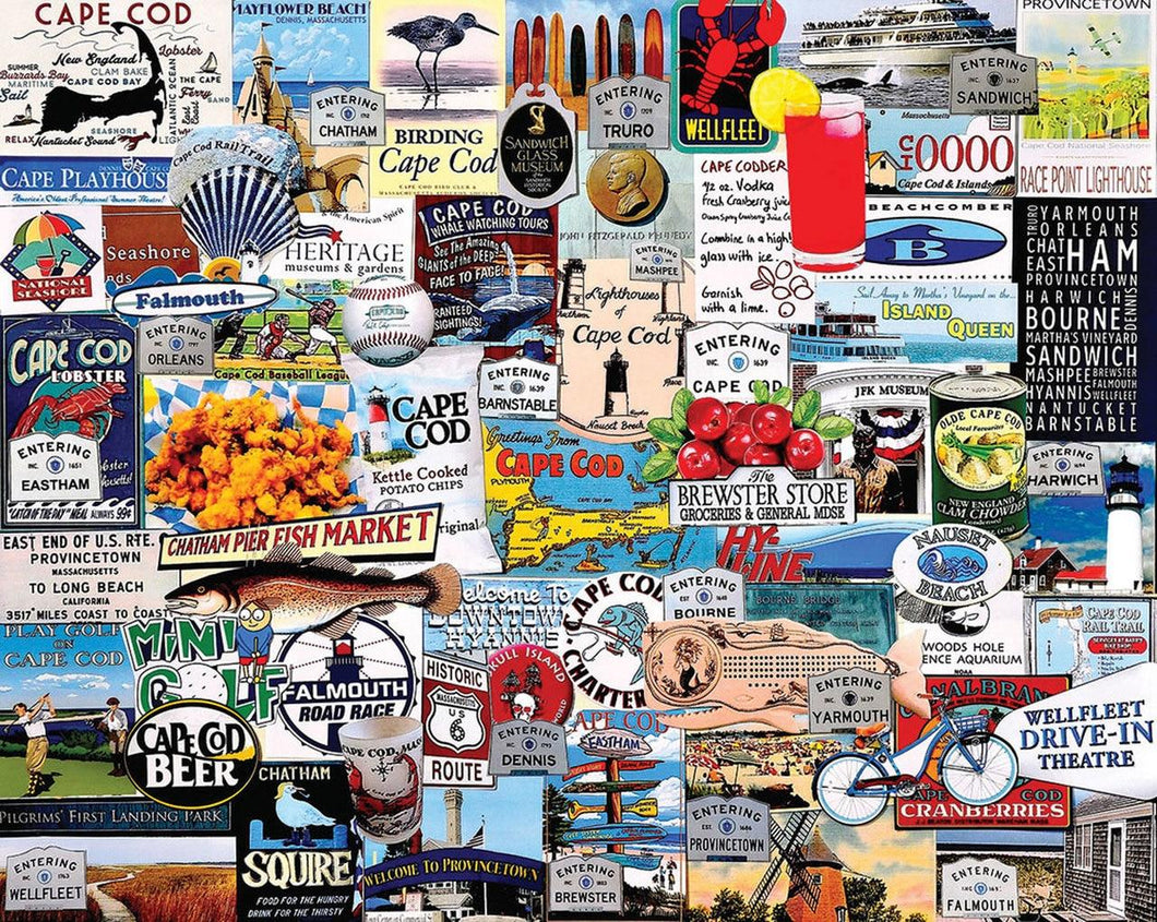 I Love Cape Cod - 1000 piece