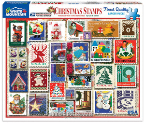 Christmas Stamps - 1000 piece