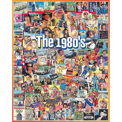 The 1980s - 1000 piece