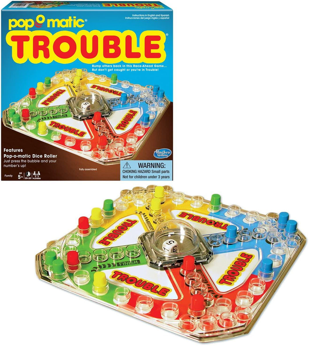 Trouble PopOmatic Game
