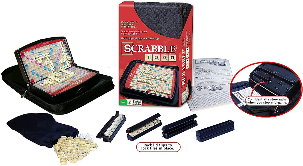 Scrabble Travel to Go In Zip-U