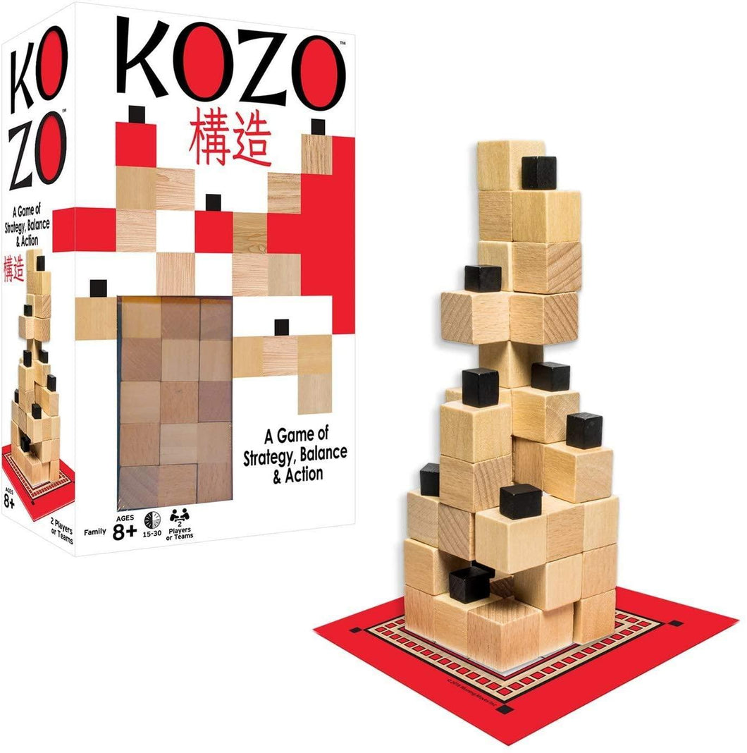Kozo stacking game