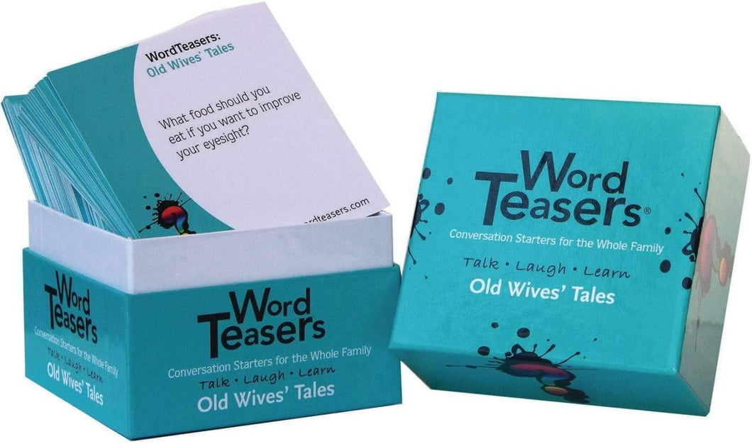 Word Teasers: Old Wives' Tales