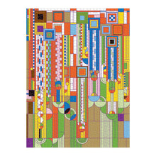Load image into Gallery viewer, Frank Lloyd Wright Saguaro Cactus And Forms Foil Stamped - 1000 piece