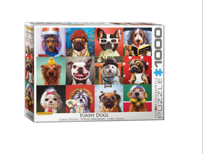Funny Dogs - 1000 piece