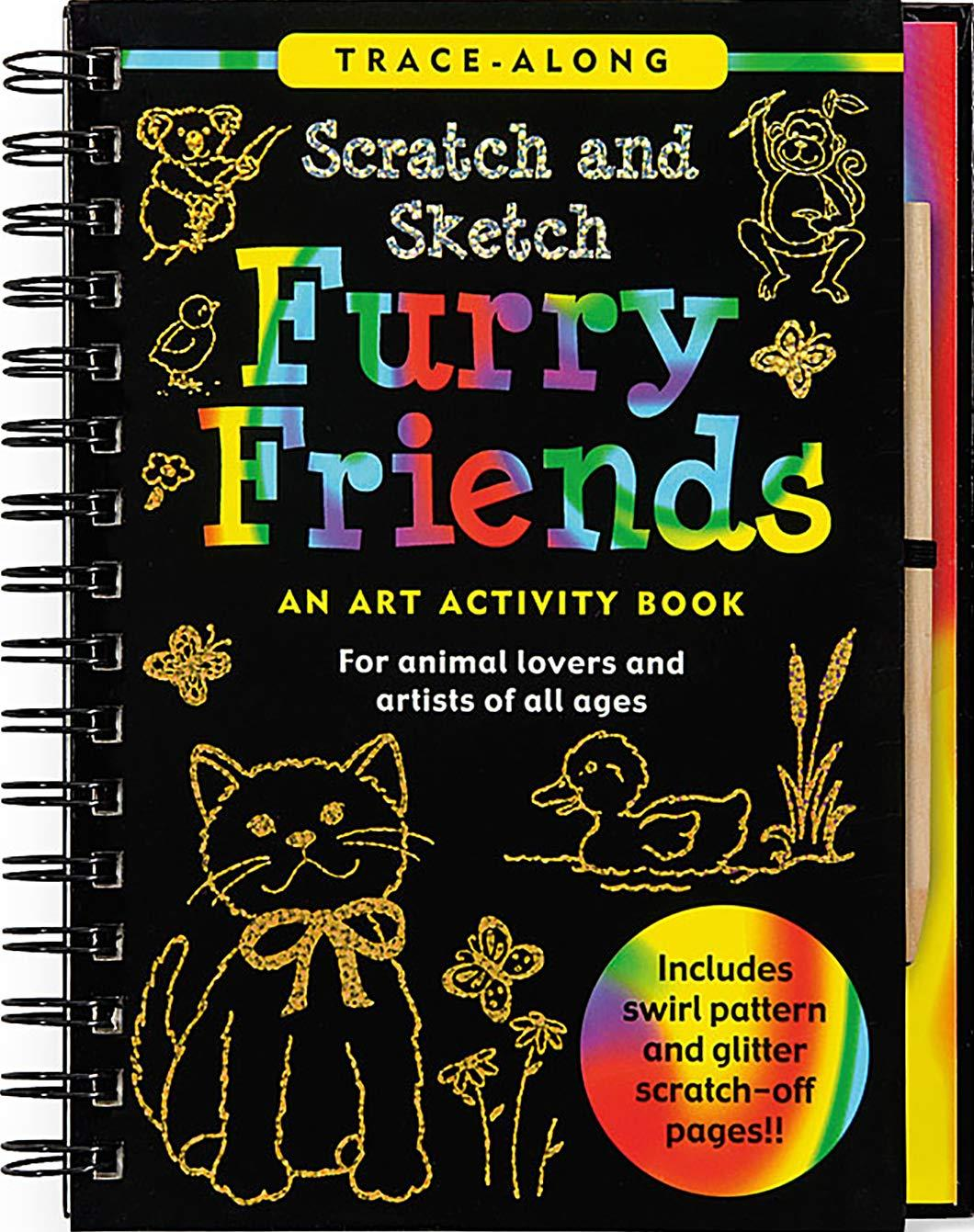 Furry Friends Scratch and Sketch
