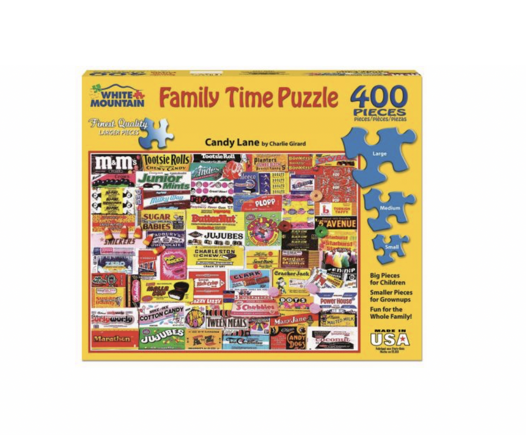 Games We Played - 400 piece (family time puzzle with different size pieces)