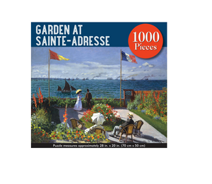 Garden at Sainte-Adresse - 1000 piece