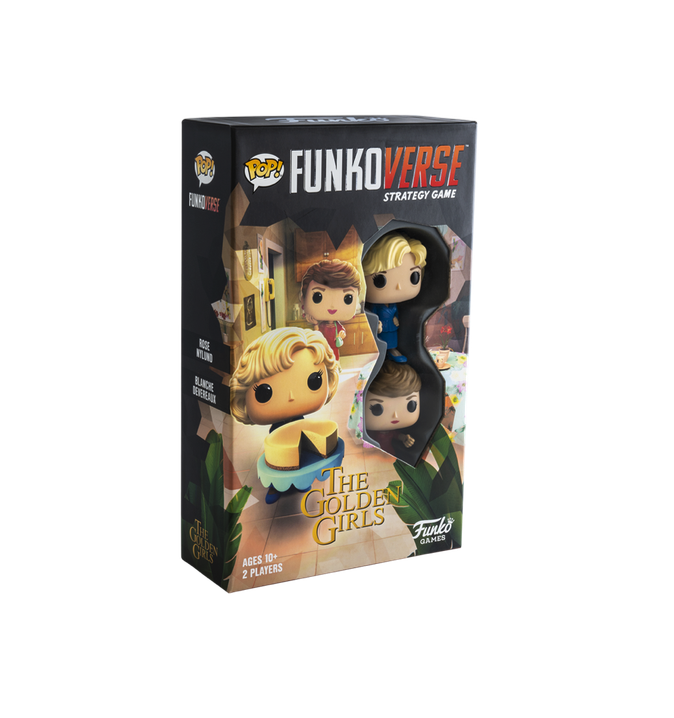 Golden Girls Funkoverse Strategy Game: Blanche & Rose