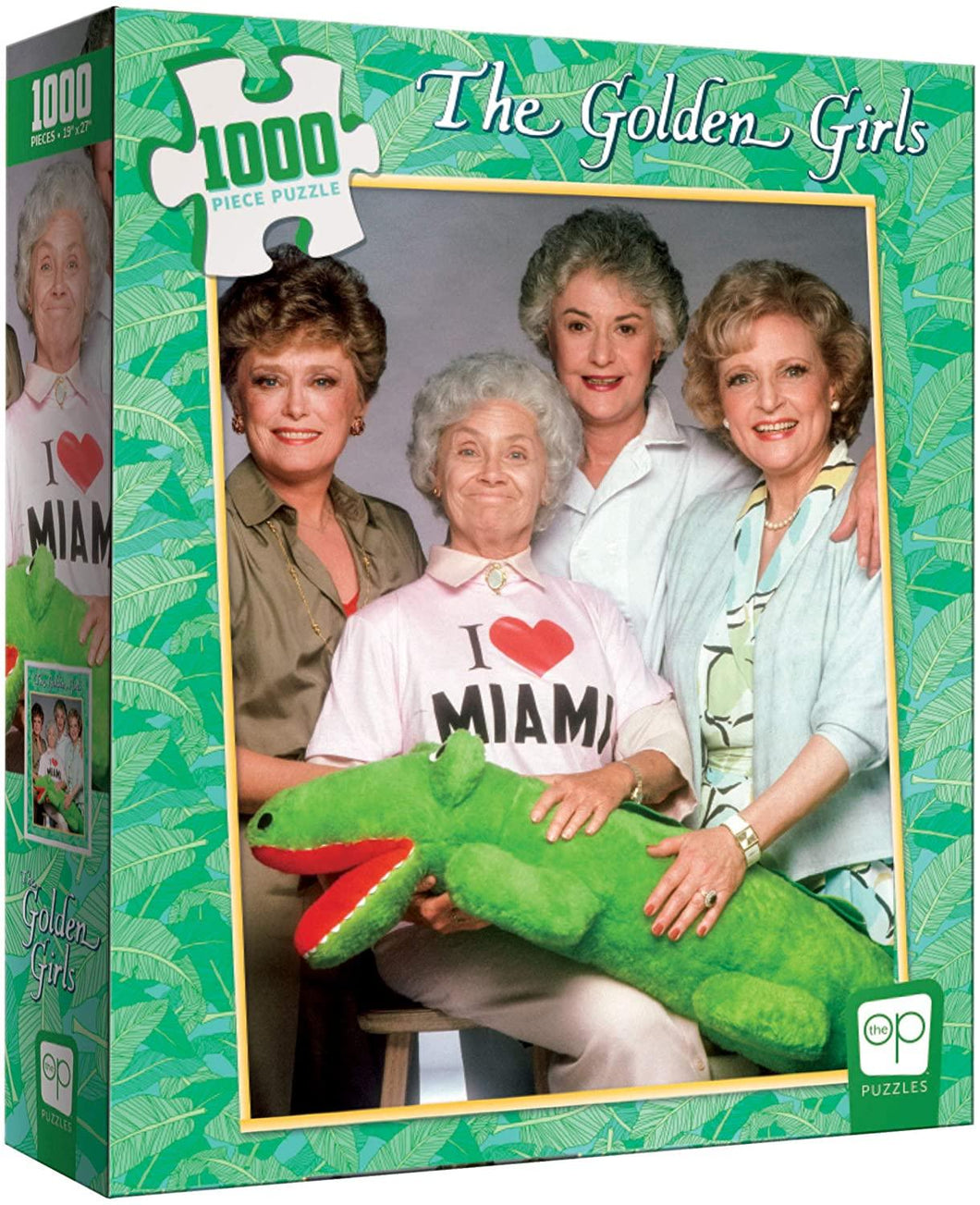 Golden Girls: I Heart Miami - 1000 piece